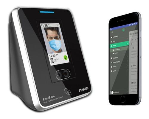 Control Biométrico Facial De Asistencia Anviz Facepass 7