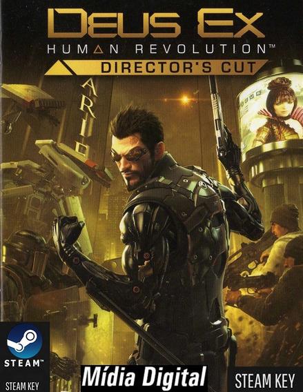 Pc Deus Ex: Human Revolution Steam Key M Digital Computador
