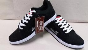 3 P. Tênis Coca Cola Unissex Camurça Import. Promo. Frete Fg