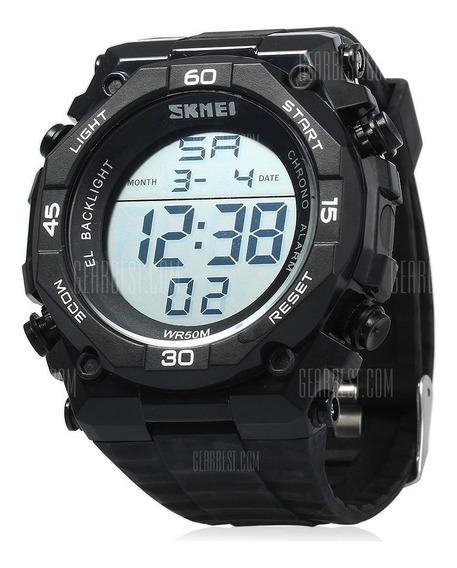 Relógio Masculino Importado Skmei 1130 Preto