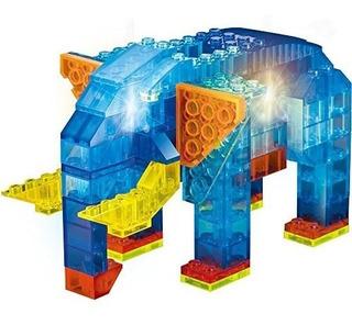Crystaland Bloques Lego Didácticos Ladrillos C/luz 6 En 1