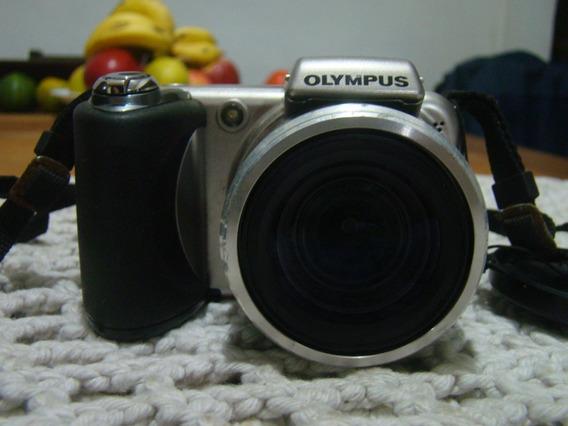 Câmera Digital Olympus Sp 600uz Funcionando Conf. Descrição