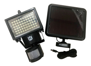 Reflector Solar Exteriores 60 Led Sensor Movimiento Etheos