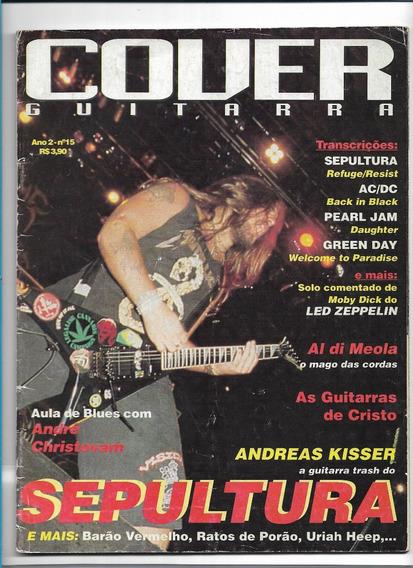 Cover Guitarra 15 Revista Sepultura