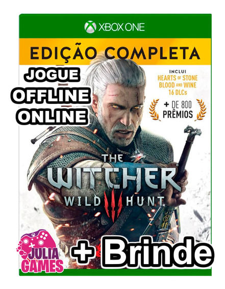 The Witcher 3 Wild Hunt Complete Edition Xbox One + Brinde