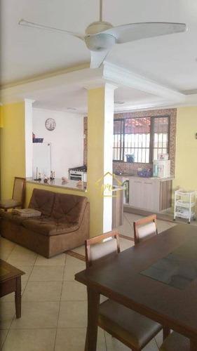 Imagem 1 de 9 de Casa À Venda, 138 M² Por R$ 670.000,00 - Jardim Imperador - Praia Grande/sp - Ca0054