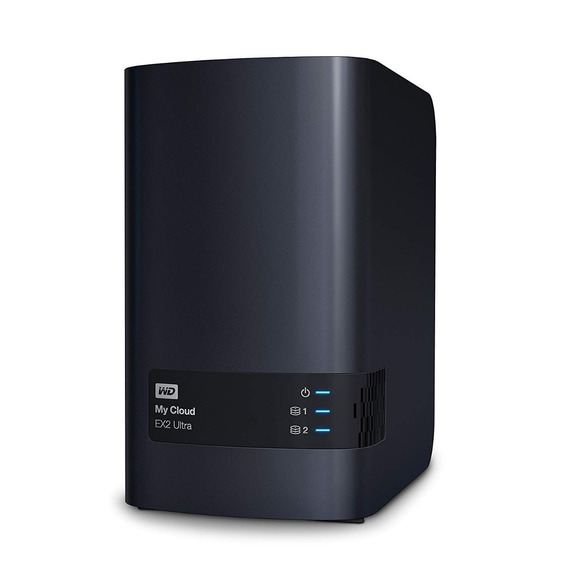 Hd Externo Nas Wd My Cloud Ex2 Ultra 2 Bay Sem Discos