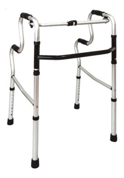 Andadera Ortopédica Reforzada Doble Apoyo Aluminio Envio Gra
