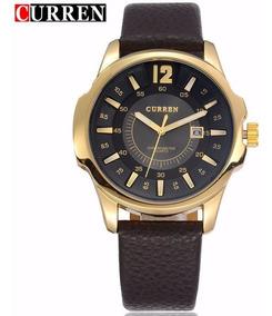 Relógio Curren 8123-1 Casual Luxo Quartz Analógico