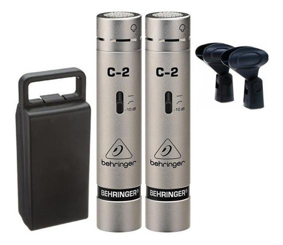 Microfone Behringer C2 Condensador - Cardioide