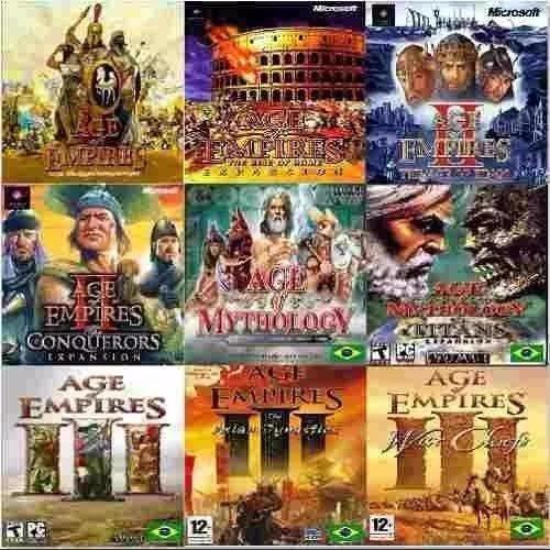 Age Of Empires Coleção Completa Em Português Veja!