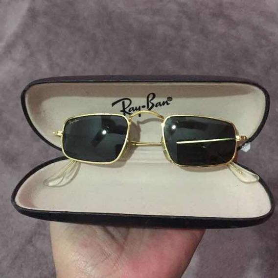 Ray Ban Vintage, Bl, G15 100% Original