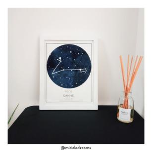 Cuadro De Estrellas/constelaciones (chico)