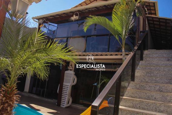 Casa 3 Quartos, Suíte, Piscina, Churrasqueira, 220 M², Bairro Liberdade - Ca0161