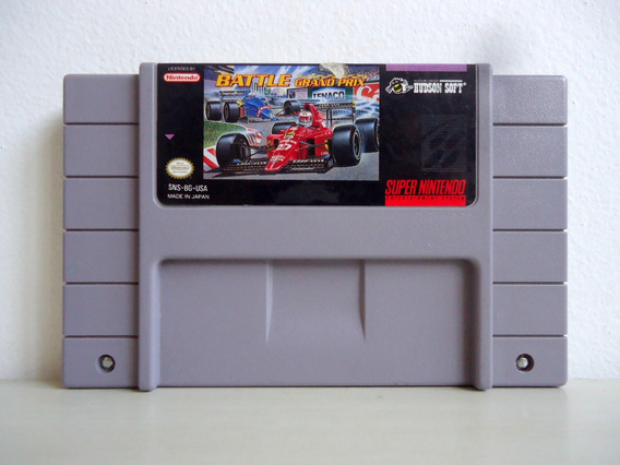 Cartucho Super Nintendo Battle Grand Prix