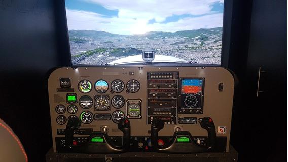 Simulador De Vuelo Profesional Cessna 172