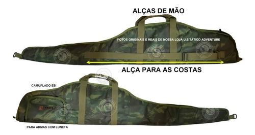 Capa Case Arma Luneta Aeg M4 Airsoft Estojo Tactical Eb