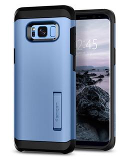Funda Spigen Samsung S8 Plus [coral Blue] Tough Armor