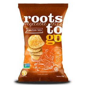 Snack Salgado Roots To Go Batata Doce Vegana 45gr