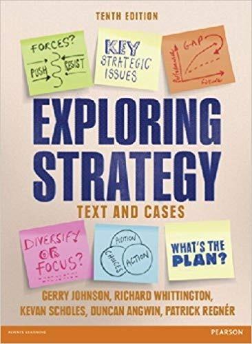 Exploring Strategy Johnson/whittington/scholes/angwin/regnér