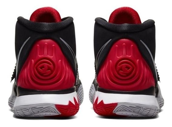 Tenis Nike Kyrie 6 Negro C/ Rojo
