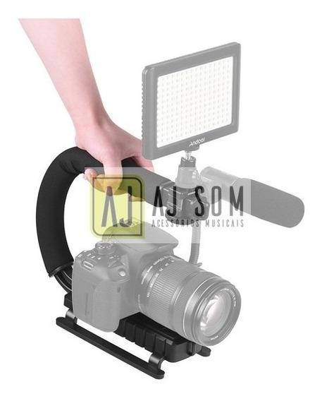 Suporte P/câmera E Celular P/gravação,video,tripé Mic