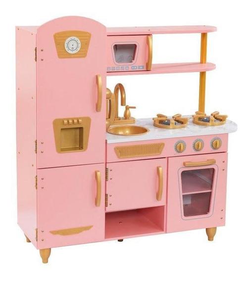 Cocina Kidkraft Edición Limitada Rosa/dorada -53443