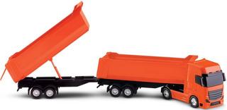 Camión Doble Volcador 50cm Roma Brinquedos