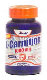 L-carnitine 1000mg 60 Caps Arnold Nutrition - Carnipure [nf]