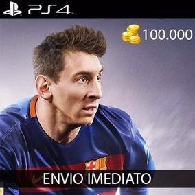 110.000 Coins Fifa 16 Ps4 *envio Imediato * Em Conta