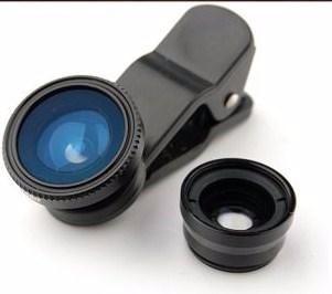 Lente De Câmera Universal Macro/ Wide Angle/ Fish Eye +frete