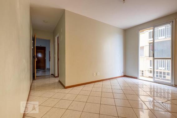 Apartamento No 3º Andar Com 2 Dormitórios E 1 Garagem - Id: 892984249 - 284249
