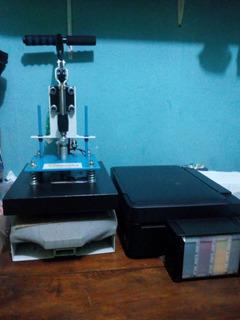 Maquina De Estampa P25 Compact Print +impressora Sublimatica