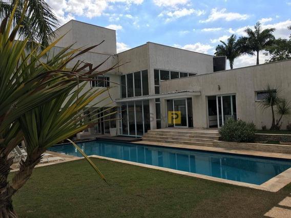 Casa Com 4 Dormitórios À Venda, 630 M² Por R$ 2.700.000,00 - Condomínio Altos Da Represa - Americana/sp - Ca0507