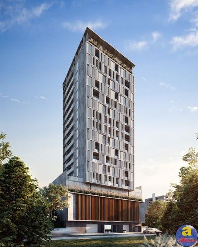 Imagem 1 de 10 de Apartamento 2 Demi-suítes, 1 Vaga De Garagem No Morretes Em Itapema/sc - Imobiliária África - Ap00568 - 69826375