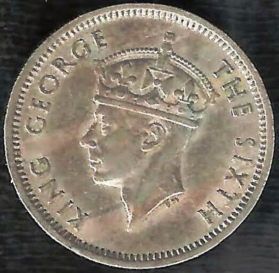 Malasia 1950 10 Cents Colonial Inglaterra George Vi L2708