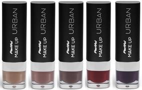 Batom Panvel Make Up Matte Urban + Delineador Olhos Avon