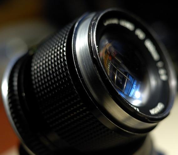 Canon Fd 100mm 2.8 Con Montura Ef