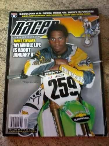 Revista Importada Racer X/motocross