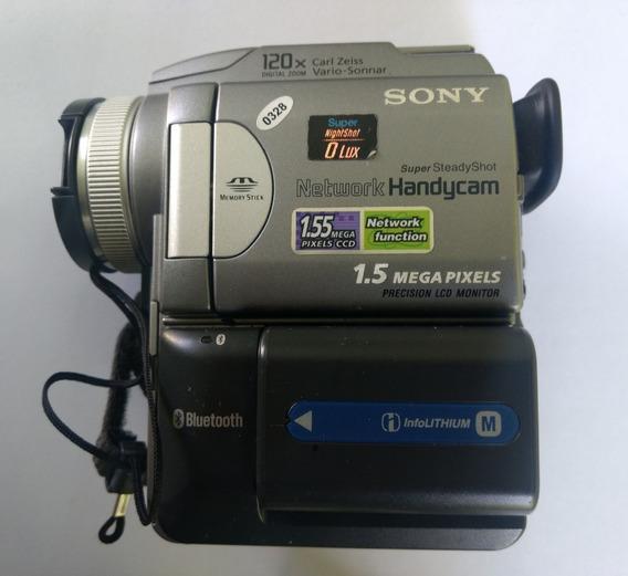 Vídeo Câmera Digital Sony Dcr-pc120e Funcionando