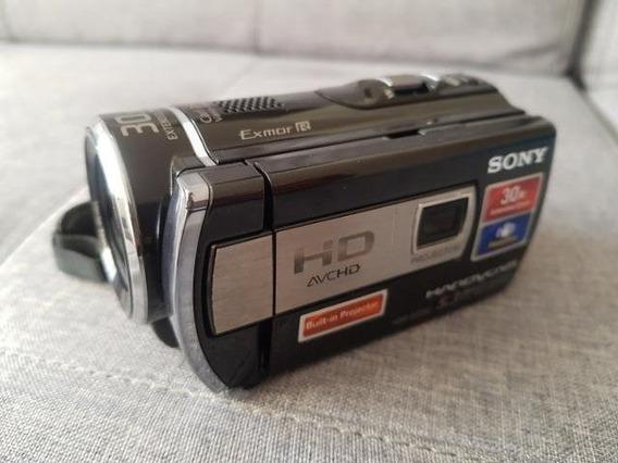 Filmadora Sony Hdr-pj200 Full Hd Projetor Integrado