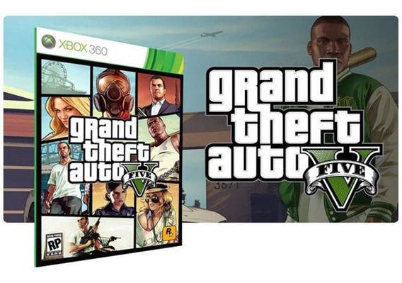 Gta V Xbox 360 Game Digital Jogo Original Download Licença