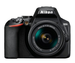 Nikon D3500 18-55mm Af-p Dx Vr - Nova !