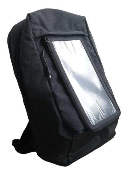 Mochila Ypf Cargador Solar Carga Celular Tablet