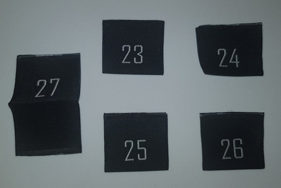 Etiquetas Tejidas Para Pantalones ( X10 Unidades )