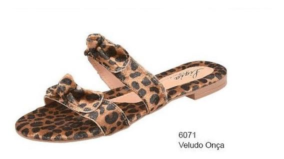 Sandália Rasteira Lígia Fashion 6071