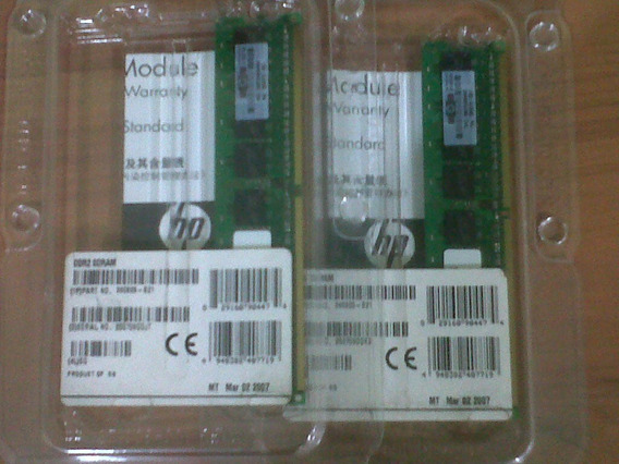 Memoria Ddr2 512mb Proliant Ml110g3 390825-b21