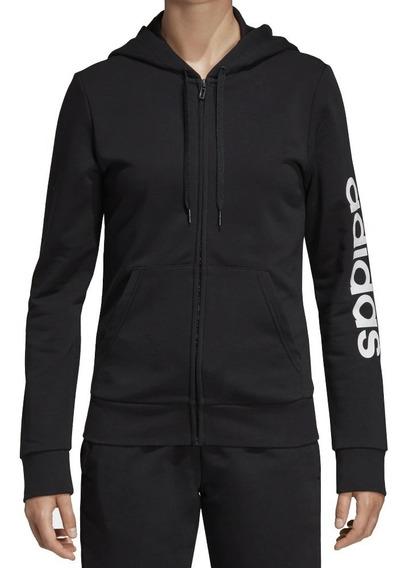 Jaqueta adidas Moletom Linear Essentials Feminina Dp2401