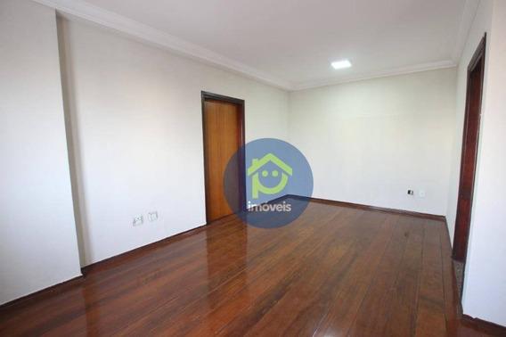 Apartamento Com 3 Dormitórios Para Alugar, 120 M² Por R$ 1.200,00/mês - Parque Industrial - São José Do Rio Preto/sp - Ap7491