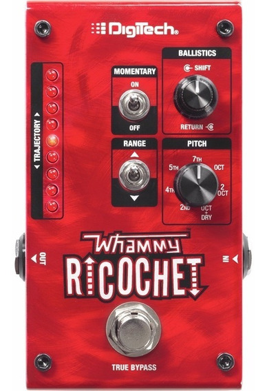 Pedal Digitech Whammy Ricochet True Bypass Pitch Shift